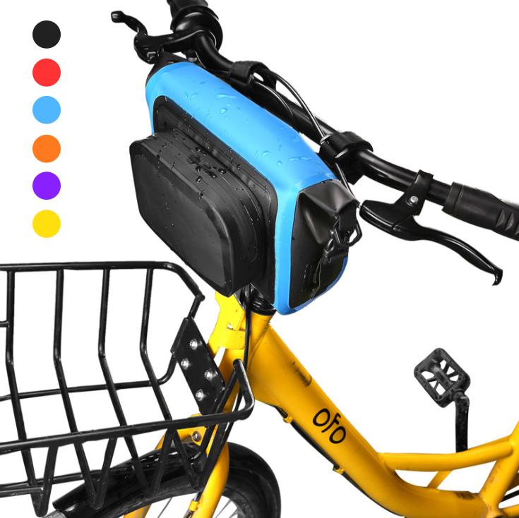 Сумка нарульная / гермомешок / сумка на кермо / велосумка побутова похідна водоупорная кольорова (6 кольорів)