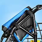 Сумка нарульная / гермомешок / сумка на кермо / велосумка побутова похідна водоупорная кольорова (6 кольорів), фото 4