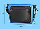 Сумка нарульная / гермомешок / сумка на кермо / велосумка побутова похідна водоупорная кольорова (6 кольорів), фото 5