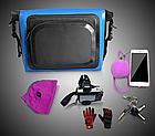Сумка нарульная / гермомешок / сумка на кермо / велосумка побутова похідна водоупорная кольорова (6 кольорів), фото 7