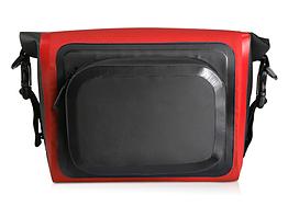 Сумка нарульная / гермомешок / сумка на руль / велосумка бытовая походная водоупорная цветная (6 цветов) КРАСНЫЙ