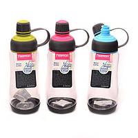 Бутылка универсальная пластиковая для воды Fissman 0,6 л 6840