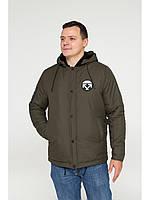 Мужская зимняя куртка бомбер Riccardo NY Хаки