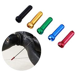 Концевик обжимной АЛЮ «MUQZI» для тросов линий тормозов и скоростей цветные (5 цветов)