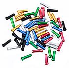 Концевик обжимной АЛЮ «MUQZI» для тросов линий тормозов и скоростей цветные (5 цветов), фото 3