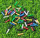 Концевик обжимной АЛЮ «MUQZI» для тросов линий тормозов и скоростей цветные (5 цветов), фото 5