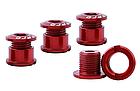 Бонки кольорові «MUQZI» АЛЮ 7075 ЧПУ CNC для шатунів (для систем на одну / дві зірки) ПОШТУЧНО, фото 3