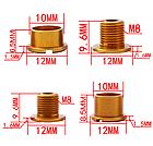 Бонки кольорові «MUQZI» АЛЮ 7075 ЧПУ CNC для шатунів (для систем на одну / дві зірки) ПОШТУЧНО, фото 4