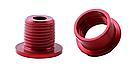 Бонки кольорові «MUQZI» АЛЮ 7075 ЧПУ CNC для шатунів (для систем на одну / дві зірки) ПОШТУЧНО, фото 7