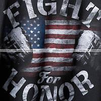Футболка Reebok UFC USA Fight for Honor T-Shirt Black