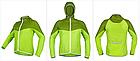 Дощовик / куртка вітровка KINGBIKE L115 / L114 ПОЛЕГШЕНА (90 г) +капюшон +кишеня, фото 5