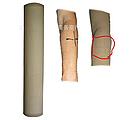 Рукав чулок нарукавник вело / спортивный однотонный на руку / ногу от солнца / загара, фото 3