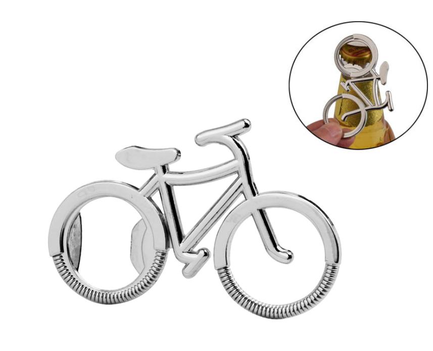 Відкривачка декоративна / брелок на ключі у вигляді вело велосипеда