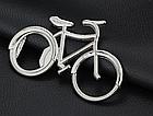 Відкривачка декоративна / брелок на ключі у вигляді вело велосипеда, фото 6