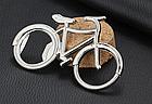 Відкривачка декоративна / брелок на ключі у вигляді вело велосипеда, фото 7