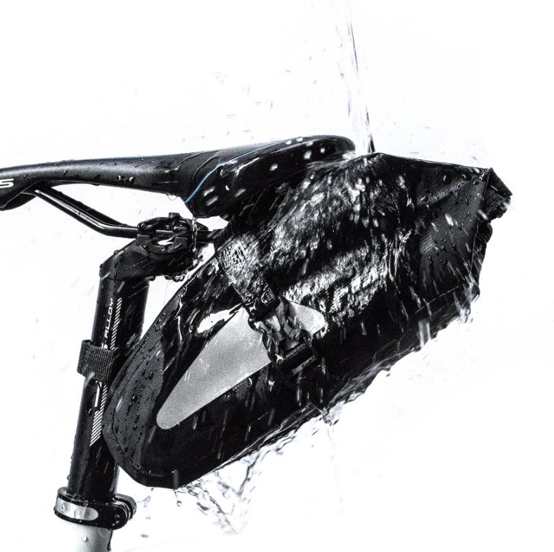 Сумка вело підсідельна водоупорная / гермомешок NEWBOLER 3Л герметичний водонепроникний каркасний