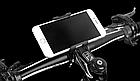 Крепление вело на руль для телефона АЛЮ с высокими бортами (для толстых устр-в, толщина до 15 мм) ± ПОВОРОТНОЕ, фото 4