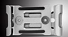 Крепление вело на руль для телефона АЛЮ с высокими бортами (для толстых устр-в, толщина до 15 мм) ± ПОВОРОТНОЕ, фото 6