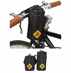 Сумка на вело руль / термо-чехол под флягу до 1 Л (два размера) «B-SOUL» YA263 вертикальный цилиндрический