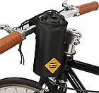 Сумка на вело руль / термо-чехол под флягу до 1 Л (два размера) «B-SOUL» YA263 вертикальный цилиндрический, фото 3
