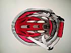 Ремнабор / накладки / подкладка смягчающая для велосипедного шлема (набор 5 элементов с экраном от насекомых), фото 2