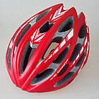 Ремнабор / накладки / подкладка смягчающая для велосипедного шлема (набор 5 элементов с экраном от насекомых), фото 3