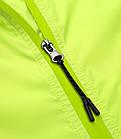 Куртка дождевик «Outto» 180012 трансформер 2-в-1 жилет с капюшоном вело дорожная походная, фото 6