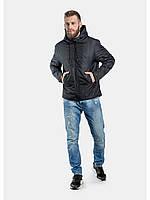 Мужская куртка ветровка Riccardo Z1 Черный