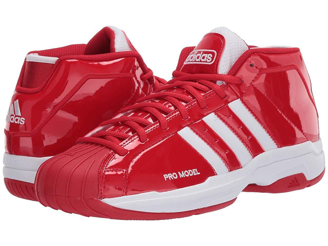 Кроссовки/Кеды adidas Pro Model 2G Scarlet/Footwear White/Scarlet