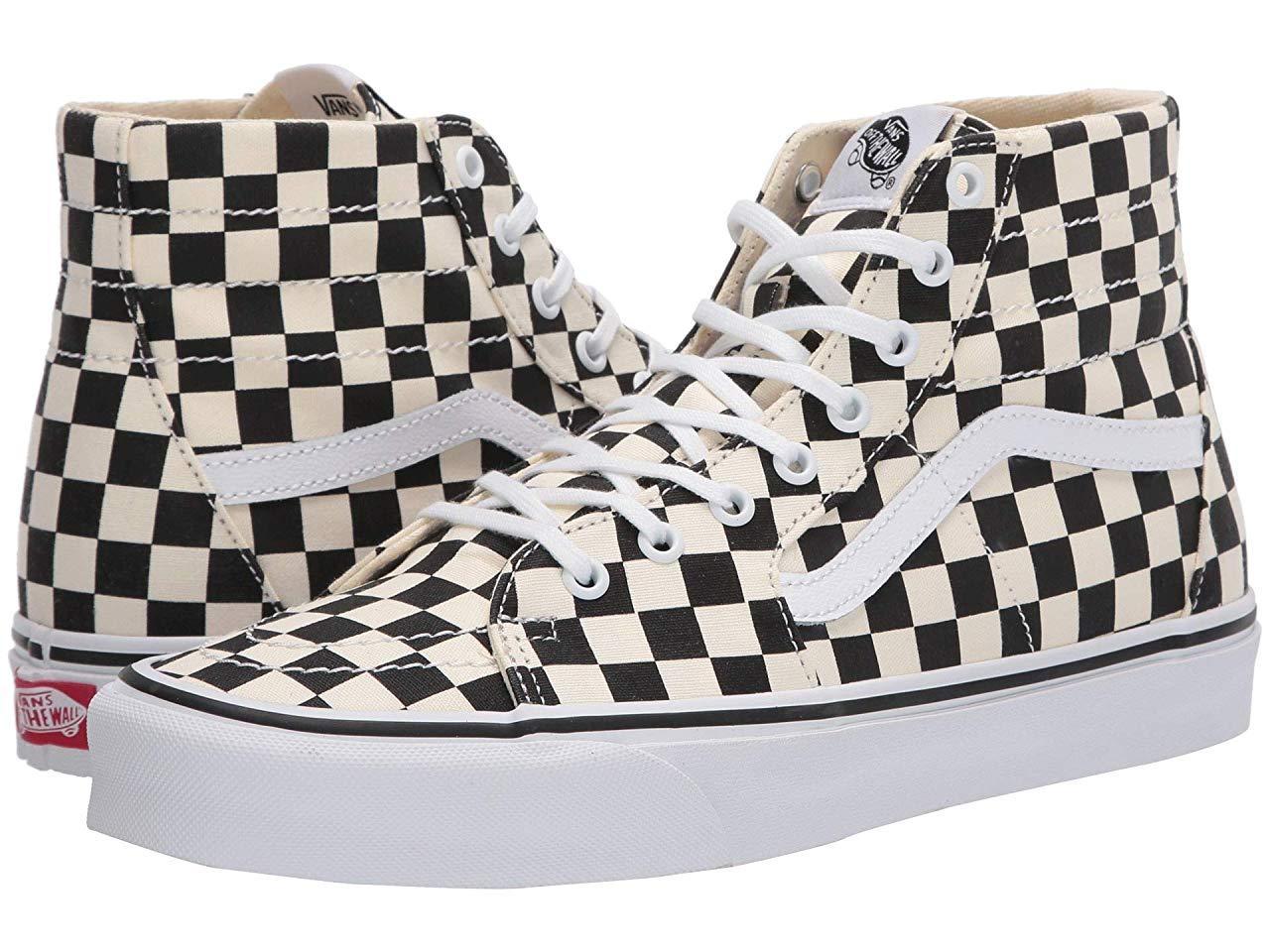 Кроссовки/Кеды (Оригинал) Vans Sk8-Hi™ Tapered (Checkerboard) Black/True White