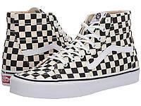 Кроссовки/Кеды (Оригинал) Vans Sk8-Hi™ Tapered (Checkerboard) Black/True White, фото 1