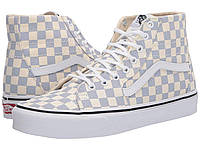 Кроссовки/Кеды Vans Sk8-Hi™ Tapered (Checkerboard) Zen Blue/True White, фото 1