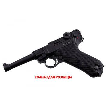 Пневматический пистолет KWC Luger P-08 Parabellum