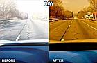 Окуляри HD Vision UV400 анти-фари для водіння жовті з поляризацією покращена оправа / панорамний огляд, фото 8