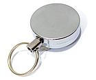 Ретрактор / брелок-рулетка на карабіні для ключів / дверних чіпів / пультів (товщина 13 мм) зі знімною кліпсою, фото 2
