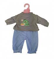 Кукольный наряд DBJ-445A-456 (Зеленый динозаврик)