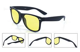 Очки для вождения жёлтые с поляризацией (оправа в стиле Ray-Ban Wayfarer)