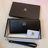 Мужской кожаный кошелёк-клатч Givenchy, фото 1