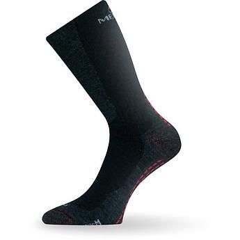 Теплые носки мужские Lasting WSM, размер M (38-41), Черные