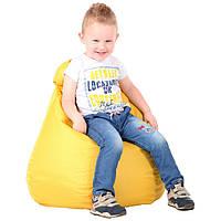 Кресло-мешок Груша 60х60х90 см. Цвет Желтый