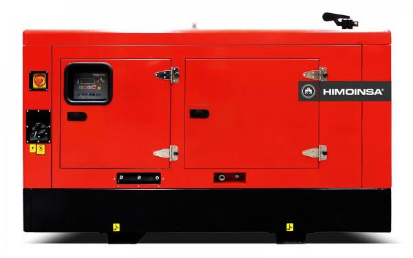 Трехфазный дизельный генератор HIMOINSA HYW-17T5 в капоте (13,6 кВт)