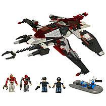 Инопланетный корабль- конструктор Крео Вторжение инопланетян 277 деталей - Alien Strike, Hasbro - 138297