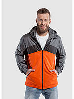 Мужская куртка ветровка Riccardo S3-2019 Оранжевый