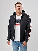 Мужская куртка ветровка Riccardo T1 Синий