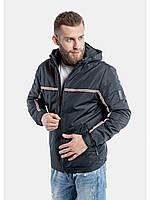 Мужская куртка ветровка Riccardo T2 Синий