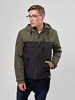 Мужская куртка ветровка Riccardo L1 Хаки