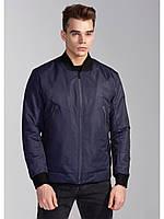 Мужская весенняя куртка бомбер Riccardo Б1 Синий