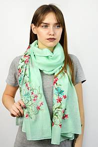 Торжественные шарфы FAMO Шарф Устина бирюзовый 180*80 (SV-03)