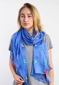 Торжественные шарфы FAMO Шарф Янина синий 183*73 (SVS-1802)