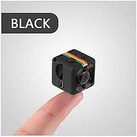 Мини камера регистратор SQ11 с ночной подсветкой и датчиком движения Чёрная